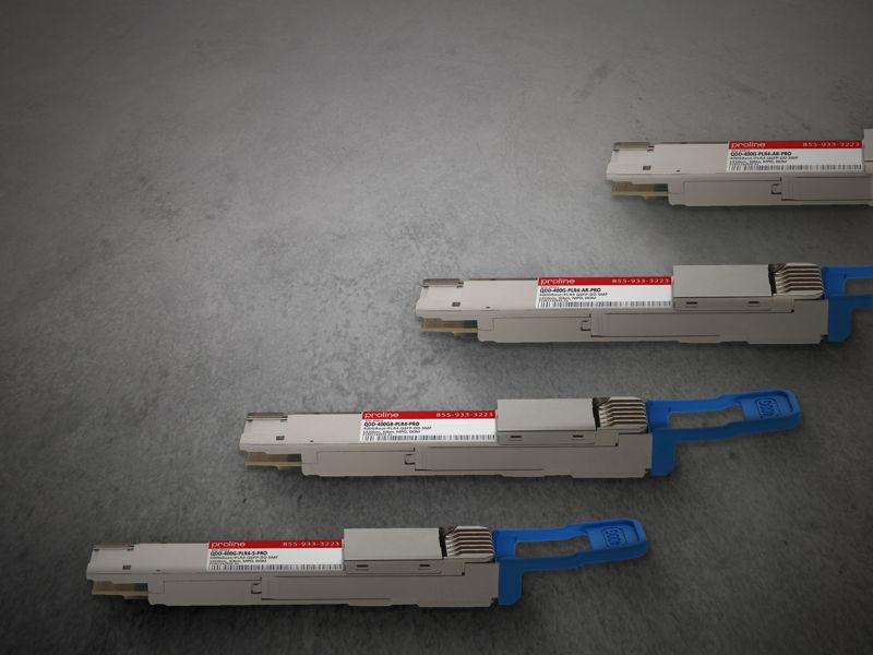 Picture for blogpost Maximize QSFP-DD port capacity with 4x100G LR1/DR4++/PLR4 breakout transceivers
